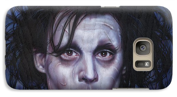 Edward Scissorhands Galaxy S7 Case by Timothy Scoggins