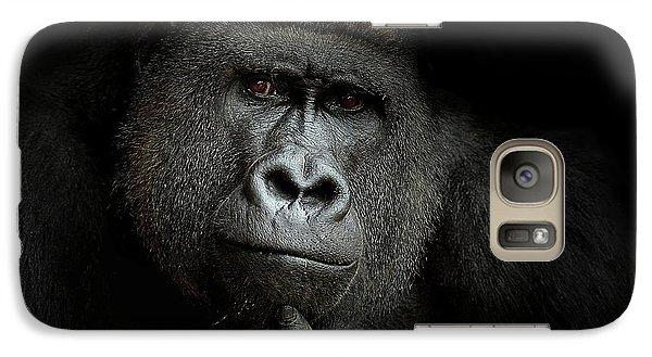 Gorilla Galaxy S7 Case - Ego Cogito, Ergo Sum by Artistname