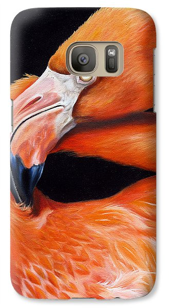 Galaxy Case featuring the painting EGO by Phyllis Beiser