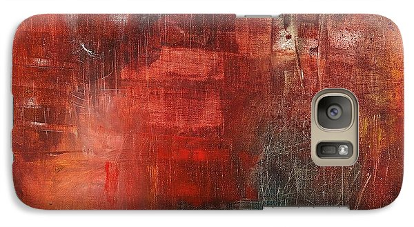 Galaxy Case featuring the painting Egotistical Bypass by Jason Williamson