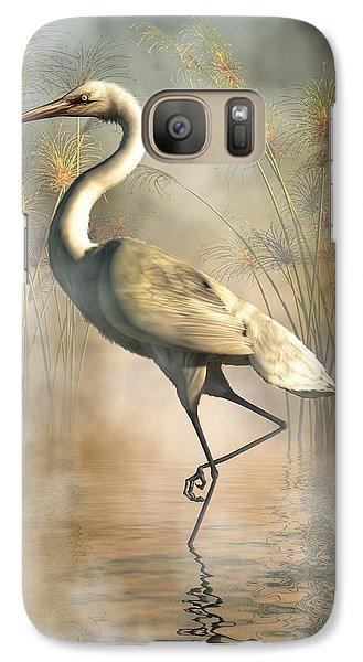 Egret Galaxy S7 Case by Daniel Eskridge