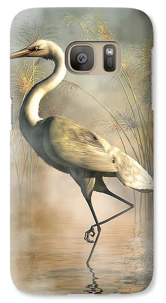 Egret Galaxy S7 Case by Daniel Eskridge