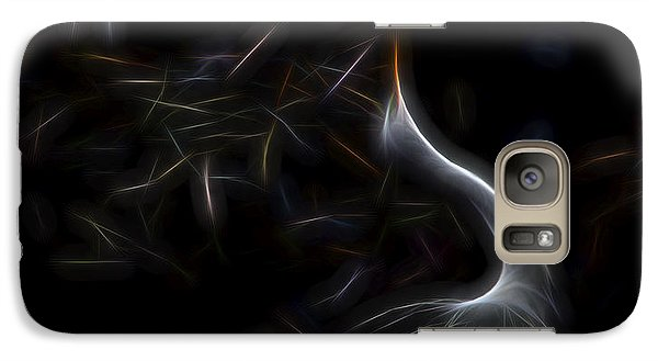 Galaxy Case featuring the digital art Egret Rookery 1 by William Horden
