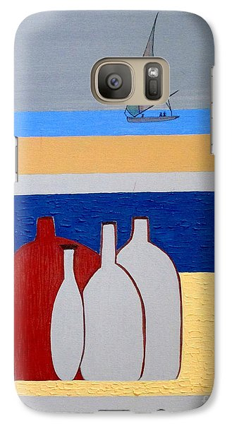 Galaxy Case featuring the painting Egypt Afternoon by Bill OConnor