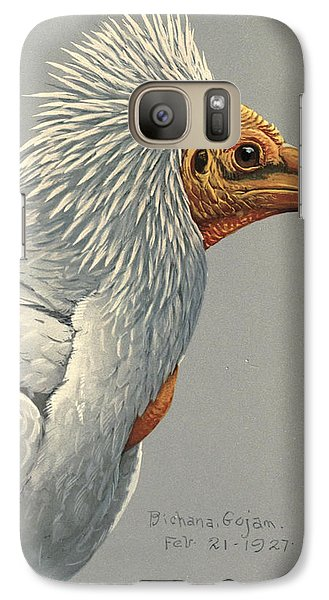 Vulture Galaxy S7 Case - Egyption Vulture by Dreyer Wildlife Print Collections