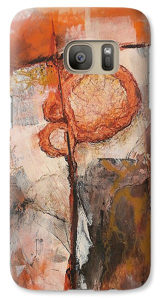 Galaxy Case featuring the painting Who Needs A Compass by Buck Buchheister