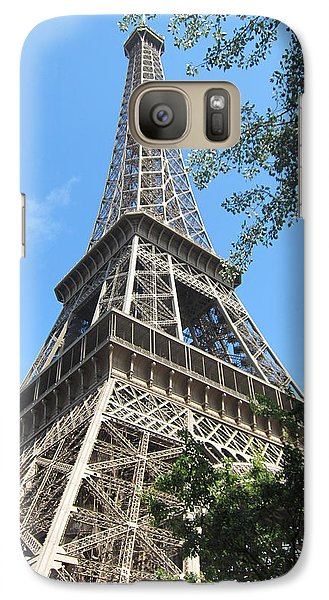 Galaxy Case featuring the photograph Eiffel Tower - 2 by Pema Hou