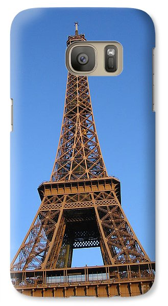 Galaxy Case featuring the photograph Eiffel Tower 2005 Ville Candidate by HEVi FineArt