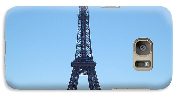 Galaxy Case featuring the photograph Eiffel Tower by Kay Gilley
