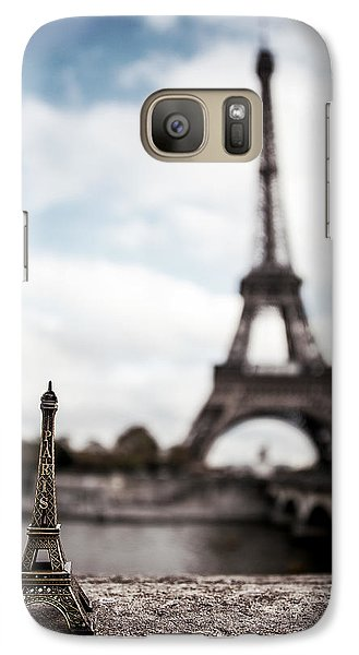 Eiffel Trinket Galaxy Case by Ryan Wyckoff
