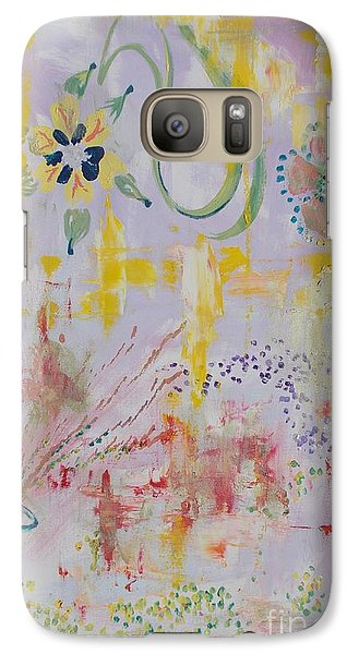 Galaxy Case featuring the painting Eileens Wedding by PainterArtist FIN