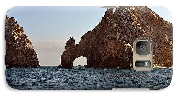 Galaxy Case featuring the photograph El Arco De Cabo San Lucas by Christine Till