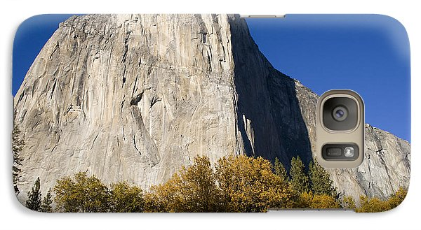 Galaxy Case featuring the photograph El Capitan In Yosemite National Park by David Millenheft