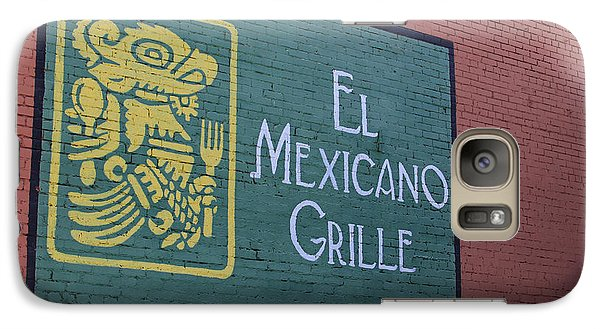 Galaxy Case featuring the photograph El Mexicano Grille by Jerry Bunger