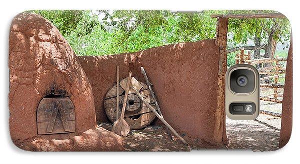Galaxy Case featuring the photograph El Rancho De Las Golondrinas by Roselynne Broussard
