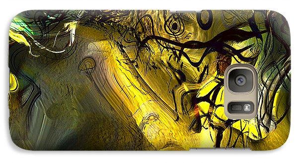 Galaxy Case featuring the digital art Elaboration Of Day Into Dream by Richard Thomas