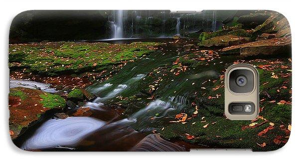 Galaxy Case featuring the photograph Elakala Falls by Jaki Miller