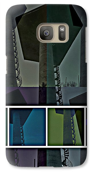 Galaxy Case featuring the photograph Elastic Concrete Part One by Sir Josef - Social Critic - ART
