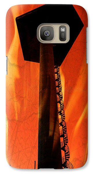 Galaxy Case featuring the photograph Elastic Concrete Part Two by Sir Josef - Social Critic - ART