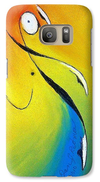 Galaxy Case featuring the mixed media Elation by Dan Redmon