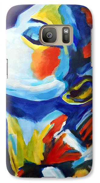 Galaxy Case featuring the painting Elation by Helena Wierzbicki