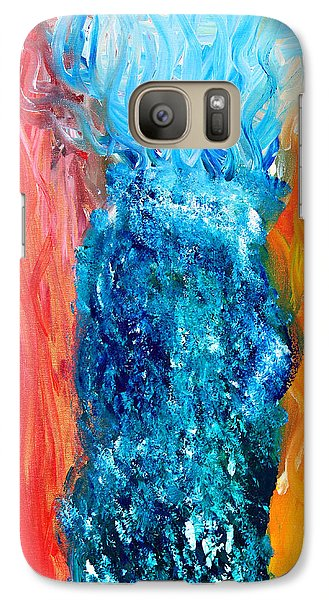 Galaxy Case featuring the painting Elder Thing by Lola Connelly