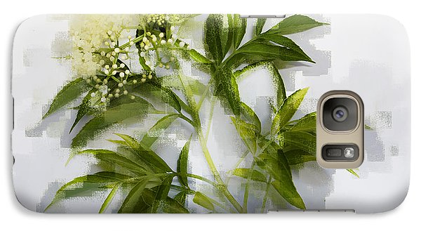 Galaxy Case featuring the photograph Elderberry  by Linde Townsend