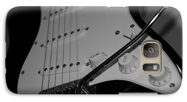 Galaxy Case featuring the photograph Electric Guitar  by Sarah Mullin