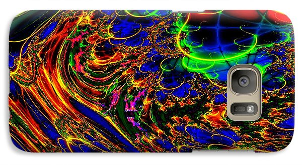 Galaxy Case featuring the digital art Electric Sea by Steed Edwards
