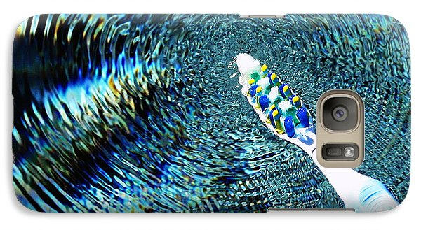 Galaxy Case featuring the photograph Electric Toothbrush by Farol Tomson