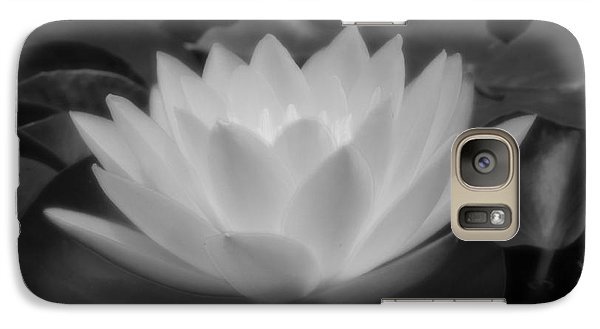 Galaxy Case featuring the photograph Electric Water Lily by Chad and Stacey Hall