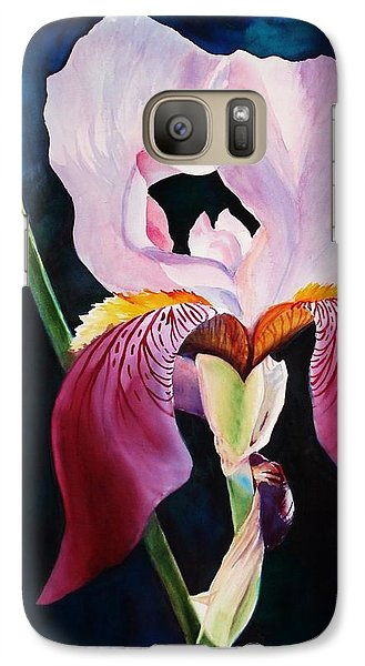 Galaxy Case featuring the painting Elegance by Marilyn Jacobson