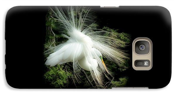 Egret Galaxy S7 Case - Elegance Of Creation by Karen Wiles