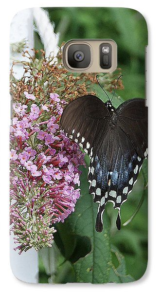 Galaxy Case featuring the photograph Elegant Swallowtail Butterfly by Margie Avellino