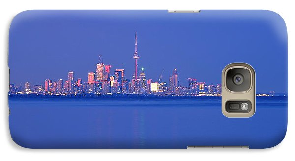 Galaxy Case featuring the photograph Element Of Water Light The City  by Puzzles Shum