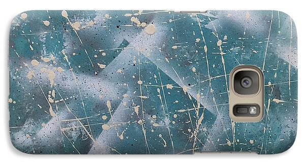 Galaxy Case featuring the painting Elements Of Winter by Theresa Kennedy DuPay
