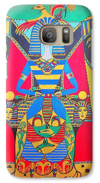Galaxy Case featuring the painting Eleonore Friend Princess Jacqueline by Marie Schwarzer
