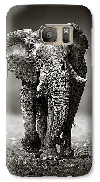 Elephant Approach From The Front Galaxy S7 Case