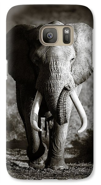 Elephant Bull Galaxy S7 Case
