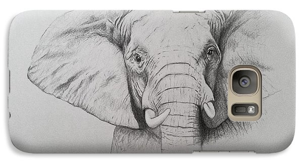 Elephant Galaxy S7 Case by Ele Grafton