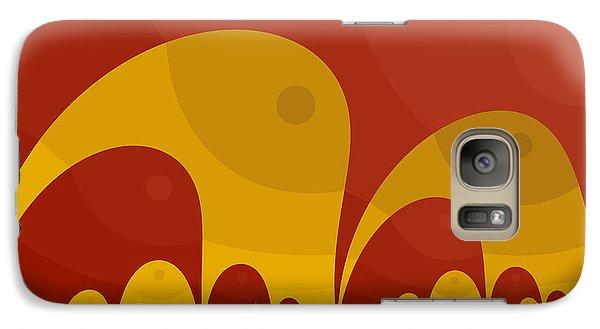 Galaxy Case featuring the digital art Elephant Lake by Mark Greenberg
