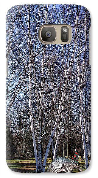 Galaxy Case featuring the photograph elf by David Klaboe