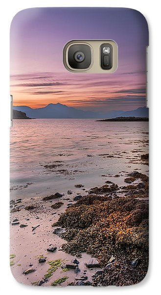 Landscape Wall Art Sunset Isle Of Skye Galaxy S7 Case