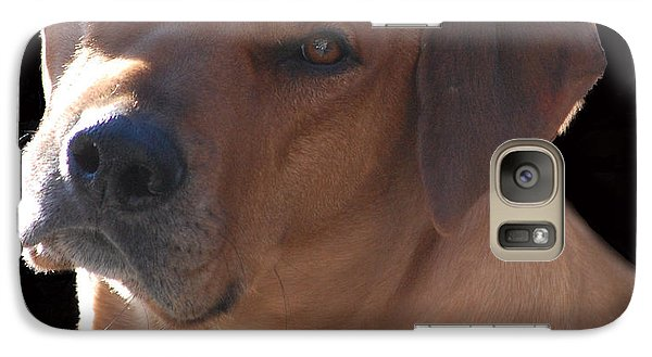 Galaxy Case featuring the photograph Eli by Mim White