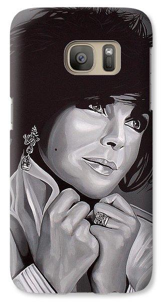 Elizabeth Taylor Galaxy S7 Case by Paul Meijering