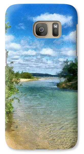 Elk River- Elk Rapids Michigan Galaxy S7 Case