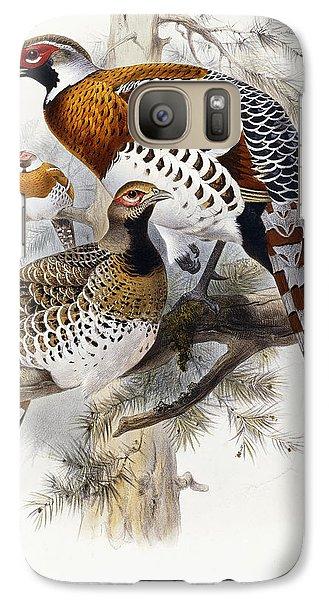 Elliot's Pheasant Galaxy S7 Case by Joseph Wolf
