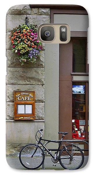 Galaxy Case featuring the photograph Elliott Bay Cafe by Wayne Meyer
