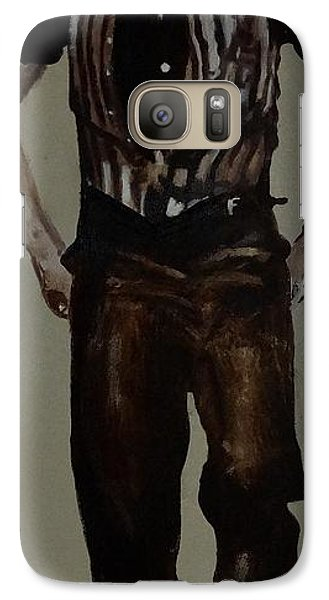 Galaxy Case featuring the painting Elvis 1953 by Eric Dee