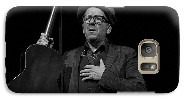 Galaxy Case featuring the photograph Elvis Costello by Jeff Ross